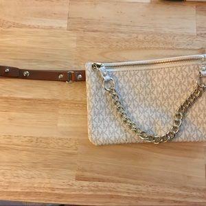 NWT Michael Kors Pull Chain Belt Bag